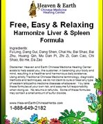 Free, Easy and Relaxing-Harmonize Liver and Spleen
