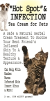 Hot Spot Infection Tea Cream For Pets
