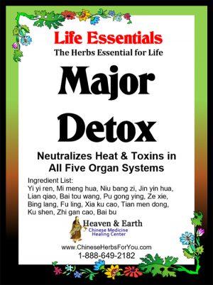 Major Detox Formula