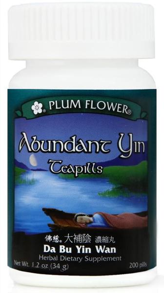 Abundant Yin Teapills