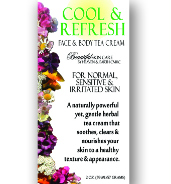 Cool & Refresh Face & Body Herbal Tea Cream - Main Image
