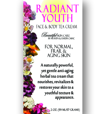 Radiant Youth Face & Body Herbal Tea Cream - Main Cover Image