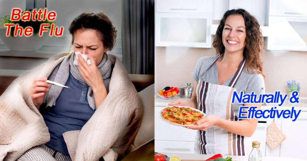 Battle the Flu Naturally & Effectively