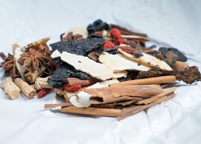 Warming Chinese Herbal Formula