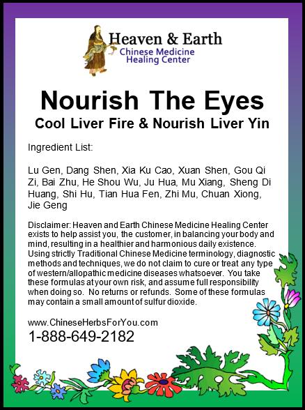 Nourish the Eyes Formula