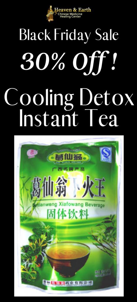 Black Friday 2020 - Cooling Detox Instant Tea 30% Off
