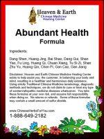 Abundant Health Formula - Premium Chinese Herbs
