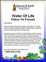 Water Of Life Kidney Yin Formula