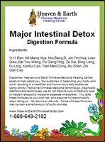 Major Intestinal Detox Formula