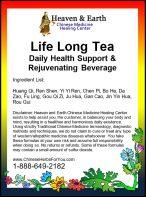 Life Long Tea Formula
