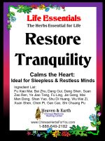 RESTORE TRANQUILITY DETAIL