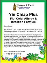 Yin Chiao Plus Chinese Herb Formula - Detail View
