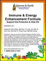 Immune Energy Enhancement Chinese Herbs